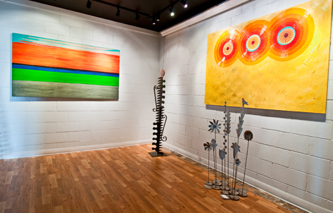 Rutledge art in gallery